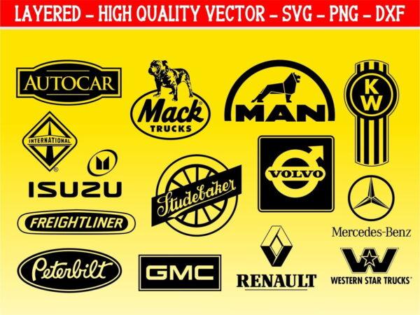 World Truck logo SVG Bundle
