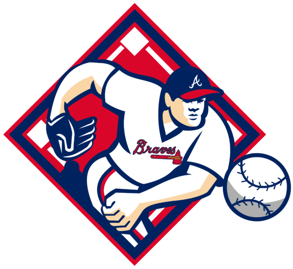 atlanta braves 10 Vectorency Atlanta Braves SVG Files For Silhouette, Files For Cricut, DXF, EPS, PNG Instant Download.