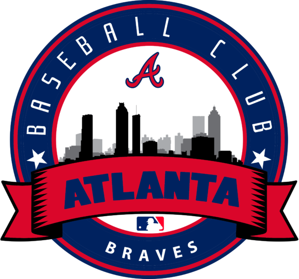 atlanta braves 15 Vectorency Atlanta Braves SVG Files For Silhouette, Files For Cricut, DXF, EPS, PNG Instant Download.