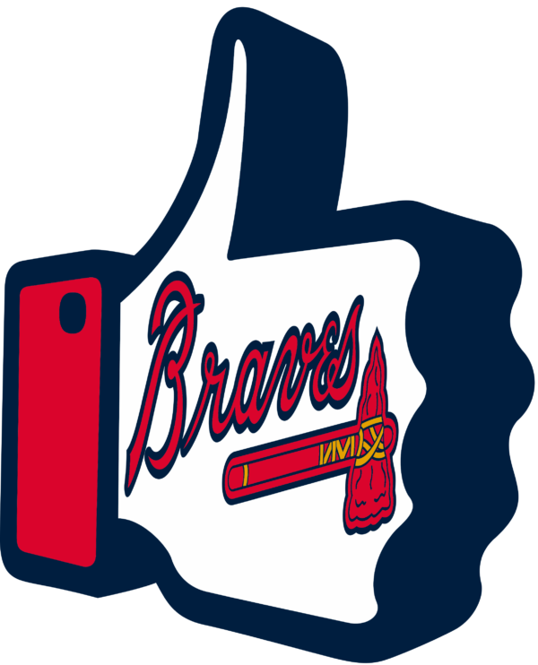 atlanta braves 16 Vectorency Atlanta Braves SVG Files For Silhouette, Files For Cricut, DXF, EPS, PNG Instant Download.