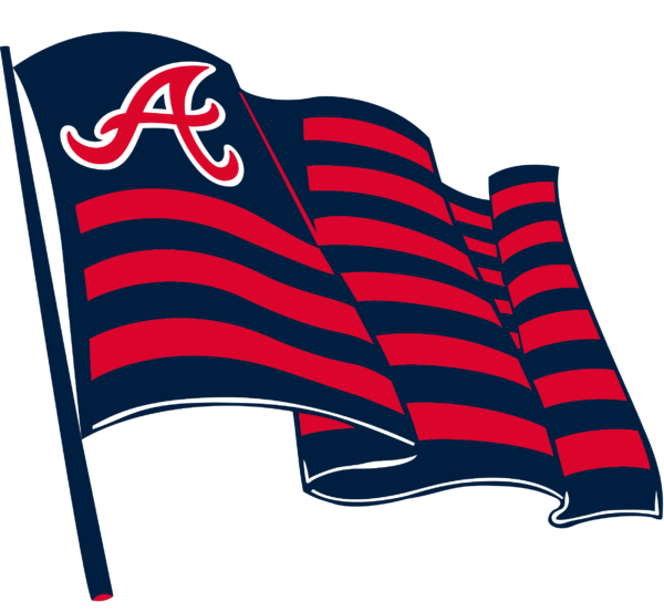 atlanta braves 18 Vectorency Atlanta Braves SVG Files For Silhouette, Files For Cricut, DXF, EPS, PNG Instant Download.