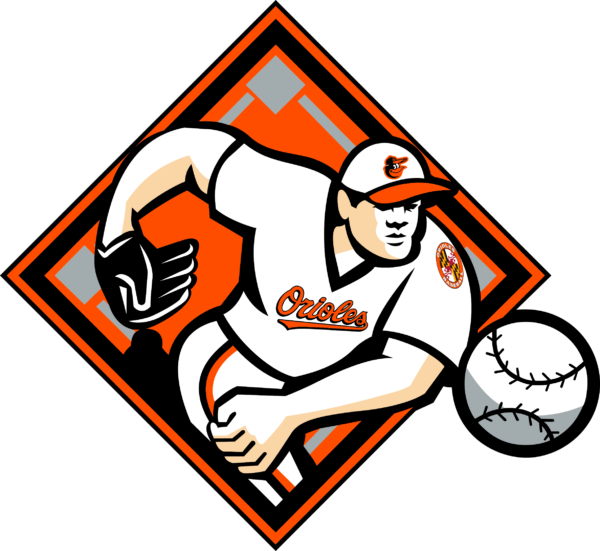 baltimore orioles 12 Vectorency Baltimore Orioles SVG Files For Silhouette, Files For Cricut, DXF, EPS, PNG Instant Download.