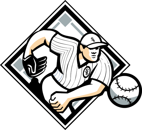 Vectorency Chicago White Sox SVG, SVG Files For Silhouette, Files For Cricut, SVG, DXF, EPS, PNG Instant Download.