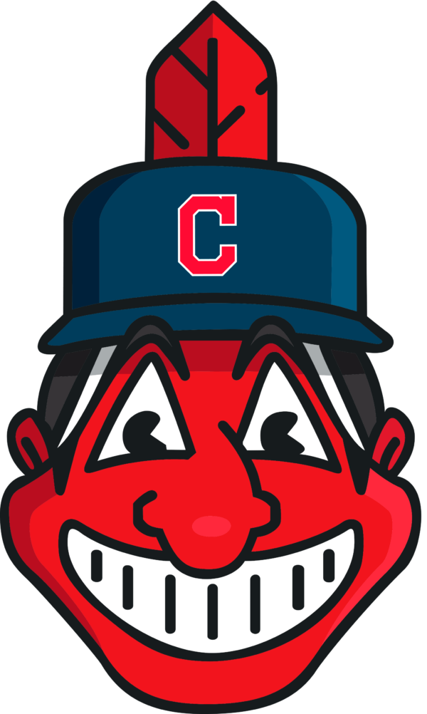 cleveland indians 07 Vectorency Cleveland Indians SVG Files For Silhouette, Files For Cricut, DXF, EPS, PNG Instant Download.