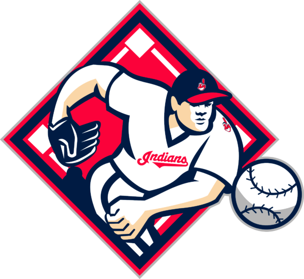 cleveland indians 15 Vectorency Cleveland Indians SVG Files For Silhouette, Files For Cricut, DXF, EPS, PNG Instant Download.