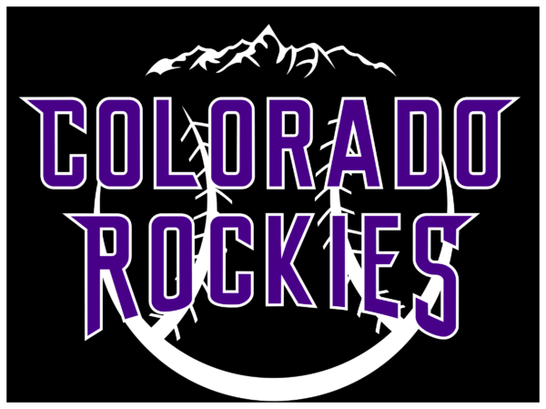 colorado rockies 08 Vectorency Colorado Rockies SVG Files For Silhouette, Files For Cricut, DXF, EPS, PNG Instant Download.