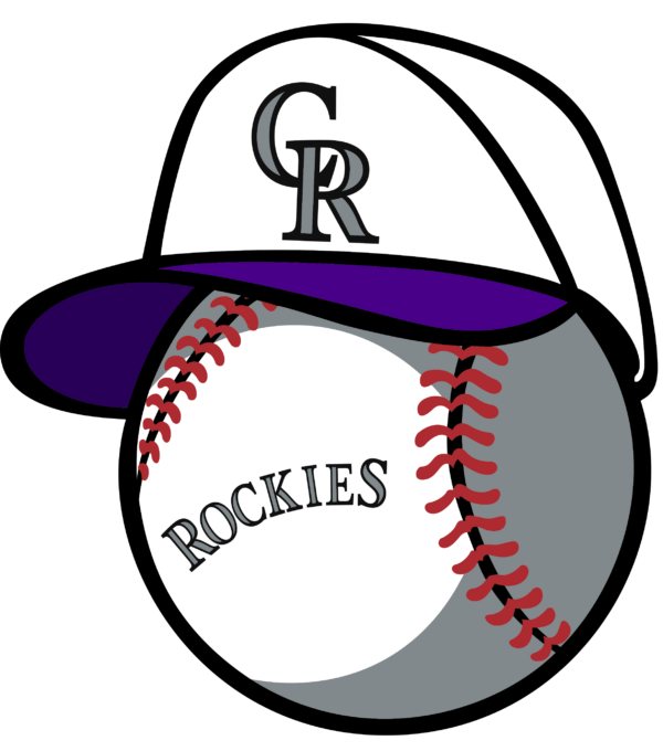 colorado rockies 19 Vectorency Colorado Rockies SVG Files For Silhouette, Files For Cricut, DXF, EPS, PNG Instant Download.