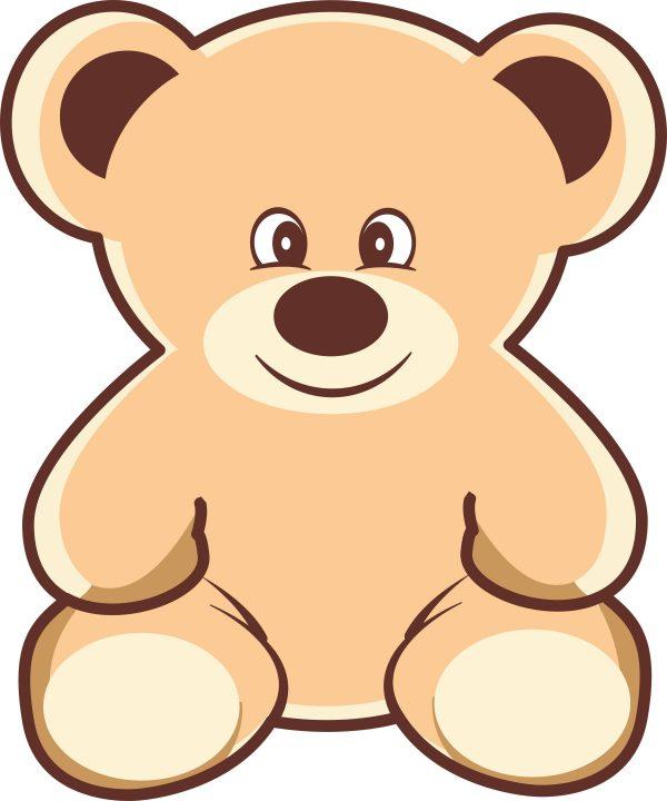 cute bear 95 3750x4500 1 Vectorency Cute Teddy Bear