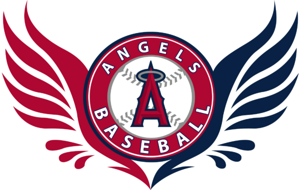 los angeles angels 04 Vectorency Los Angeles Angels SVG Files For Silhouette, Files For Cricut, DXF, EPS, PNG Instant Download.
