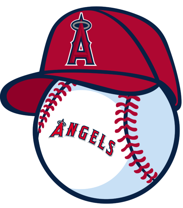 los angeles angels 12 Vectorency Los Angeles Angels SVG Files For Silhouette, Files For Cricut, DXF, EPS, PNG Instant Download.