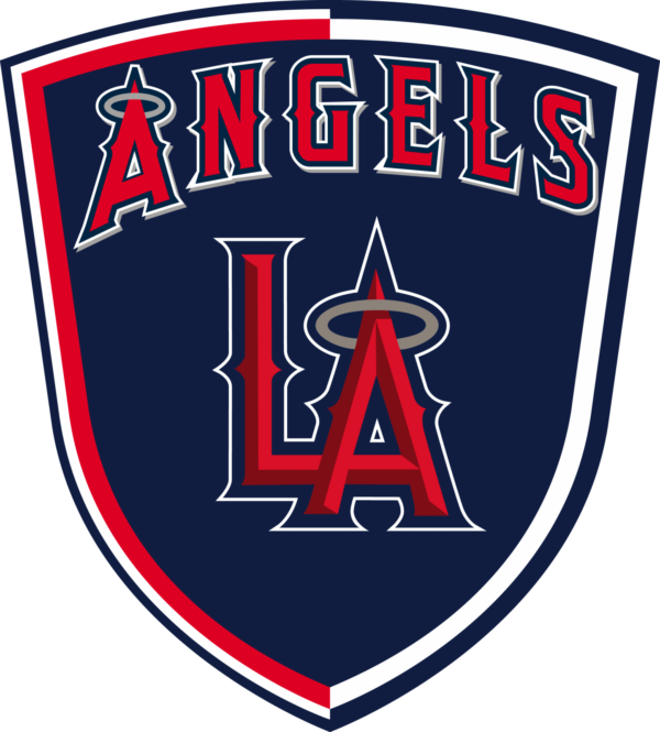 los angeles angels 14 Vectorency Los Angeles Angels SVG Files For Silhouette, Files For Cricut, DXF, EPS, PNG Instant Download.