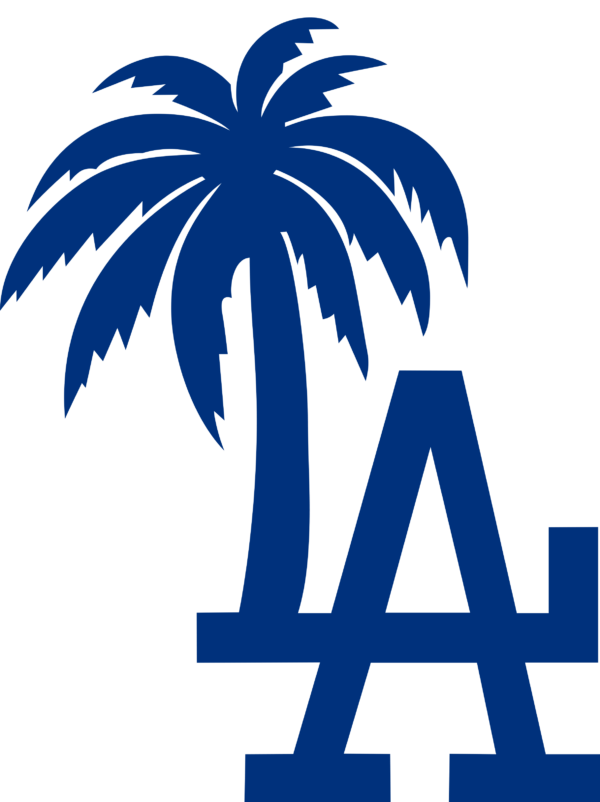 los angeles dodgers 05 Vectorency Los Angeles Dodgers SVG Files For Silhouette, Files For Cricut, DXF, EPS, PNG Instant Download.