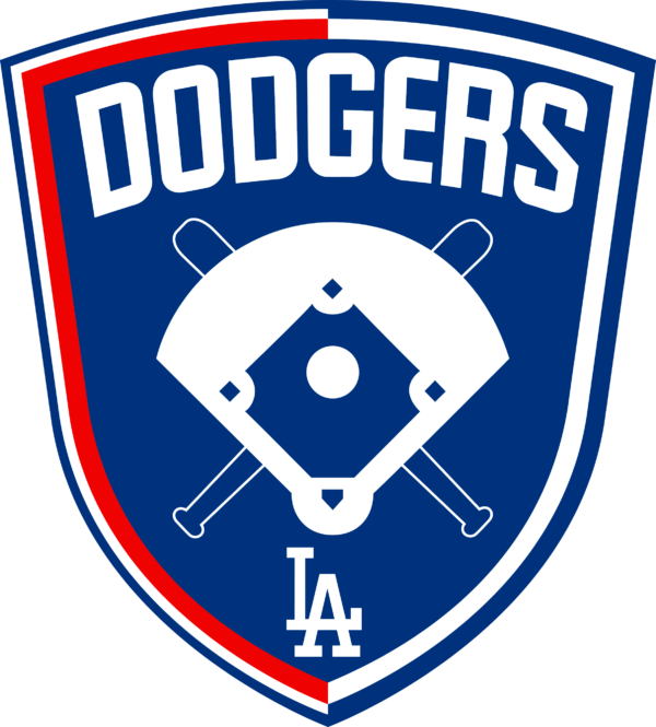 los angeles dodgers 07 Vectorency Los Angeles Dodgers SVG Files For Silhouette, Files For Cricut, DXF, EPS, PNG Instant Download.