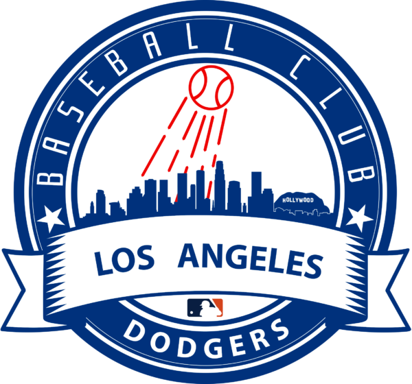 los angeles dodgers 10 Vectorency Los Angeles Dodgers SVG Files For Silhouette, Files For Cricut, DXF, EPS, PNG Instant Download.