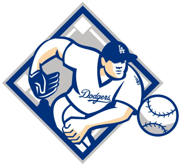 los angeles dodgers 12 Vectorency Los Angeles Dodgers SVG Files For Silhouette, Files For Cricut, DXF, EPS, PNG Instant Download.