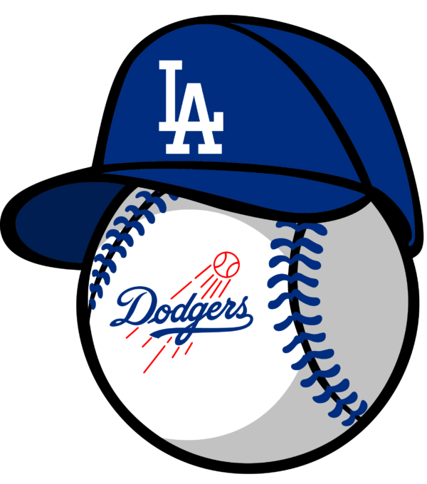 los angeles dodgers 13 Vectorency Los Angeles Dodgers SVG Files For Silhouette, Files For Cricut, DXF, EPS, PNG Instant Download.