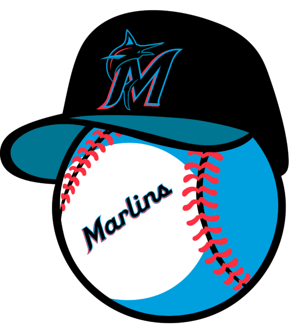 miami marlins 12 Vectorency Miami Marlins SVG Bundle, SVG Files For Silhouette, Files For Cricut, SVG, DXF, EPS, PNG Instant Download