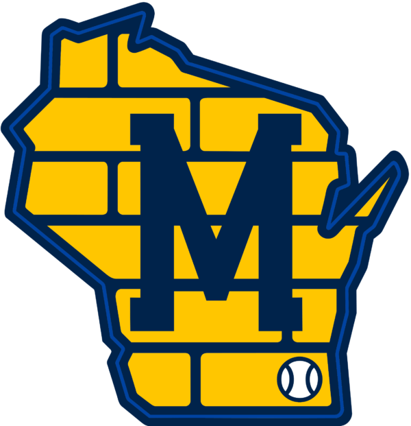 milwaukee brewers 05 Vectorency Milwaukee Brewers SVG Files For Silhouette, Files For Cricut, DXF, EPS, PNG Instant Download.