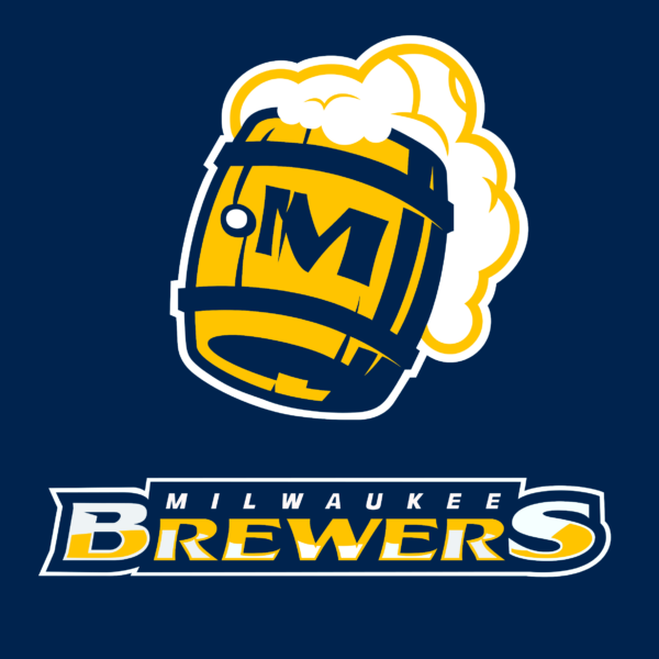 milwaukee brewers 12 Vectorency Milwaukee Brewers SVG Files For Silhouette, Files For Cricut, DXF, EPS, PNG Instant Download.