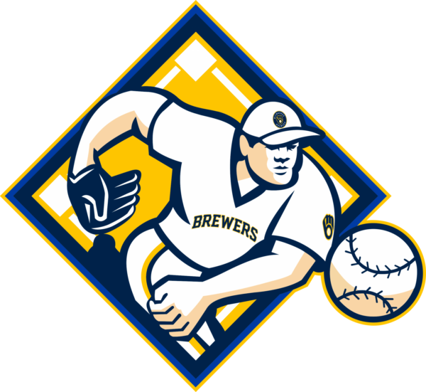 milwaukee brewers 15 Vectorency Milwaukee Brewers SVG Files For Silhouette, Files For Cricut, DXF, EPS, PNG Instant Download.