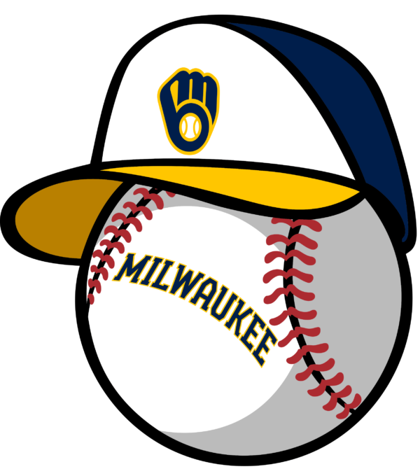 milwaukee brewers 16 Vectorency Milwaukee Brewers SVG Files For Silhouette, Files For Cricut, DXF, EPS, PNG Instant Download.