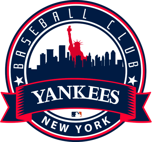 new york yankees 14 Vectorency New York Yankees SVG Files For Silhouette, Files For Cricut, DXF, EPS, PNG Instant Download.