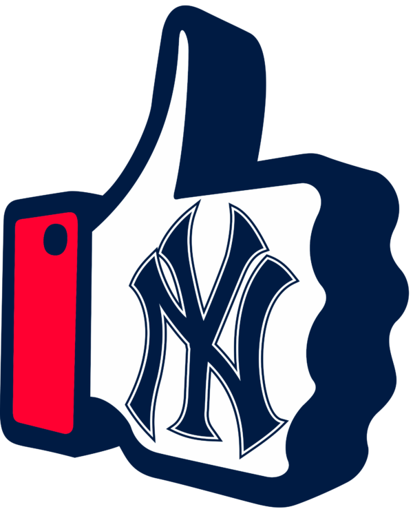 new york yankees 16 Vectorency New York Yankees SVG Files For Silhouette, Files For Cricut, DXF, EPS, PNG Instant Download.