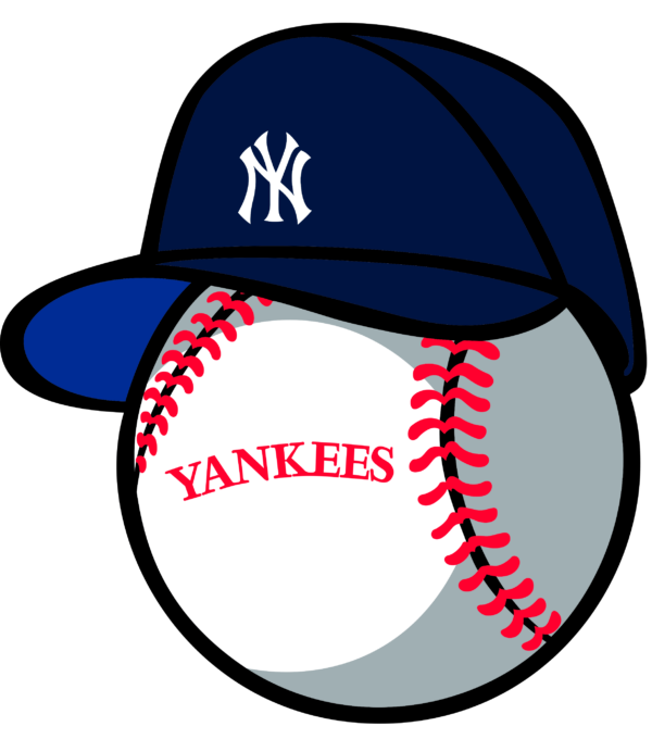 new york yankees 18 Vectorency New York Yankees SVG Files For Silhouette, Files For Cricut, DXF, EPS, PNG Instant Download.