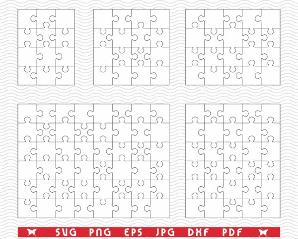 pozadina 9 scaled Vectorency White Puzzles SVG, Separate Pieces digital clipart