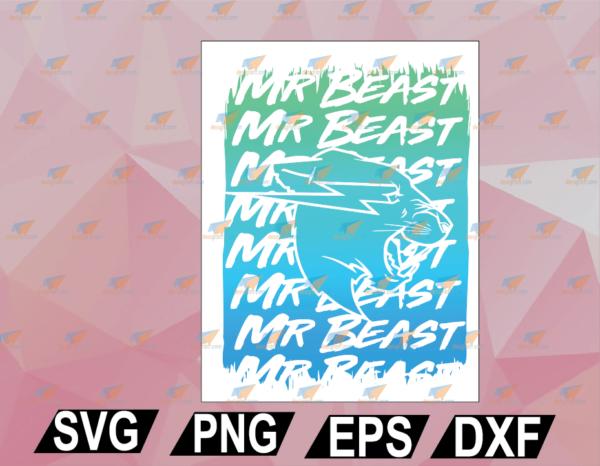 wtm web 02 44 Vectorency Retro Vintage Mr Game Funny Mr Gaming Beast Game SVG, EPS, DXF, PNG, Digital