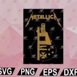 wtm web 02 60 Vectorency Design Vintage Metallic Art Band Music Legend SVG, EPS, DXF, PNG, Digital
