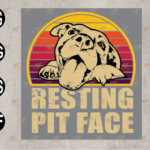 wtm web 03 73 Vectorency Dog Pitbull Resting Pit Face SVG, Pitbull Lovers Gift, Long Sleeve, SVG, EPS, PNG, DXF, Digital Download