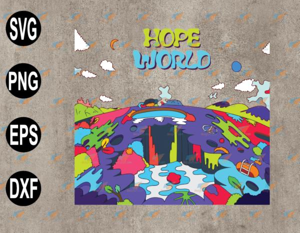 wtm web 03 75 Vectorency Hope World J-Hope Hobicore BTS Merch K Pop Music Lover SVG, Hoodie, SVG, EPS, PNG, DXF, Digital Download