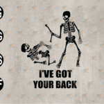 wtm web 03 76 Vectorency Spooky Funny, I've Got Your Back SVG, I've Got Your Back SVG, EPS, PNG, DXF, Digital Download