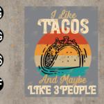 wtm web 03 79 Vectorency I Like Tacos, Tacos Lover SVG, Mexican Food Lover SVG, EPS, PNG, DXF, Digital Download