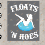 wtm web 03 83 Vectorency Floats 'n Hoes, Float Trip Tubing River Float, Sexy Girl with Swimming Float, Swimming Float SVG, EPS, PNG, DXF, Digital Download