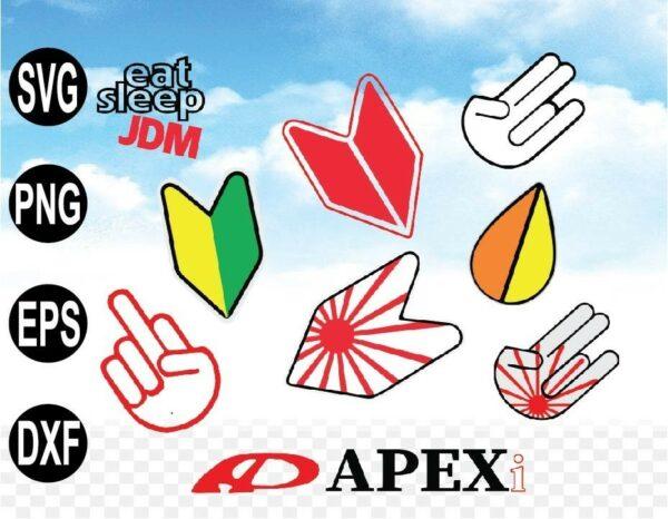 wtm web 09 1 Vectorency JDM Bundle SVG, JDM SVG, Car Sticker SVG, EPS, DXF, cricut, Silhouette Direct Download