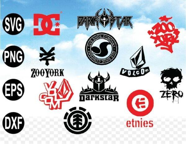 wtm web 09 5 Vectorency Skate Shoes Logo SVG, Skate SVG, EPS, DXF, Vector, Cricut, Silhouette Direct Download