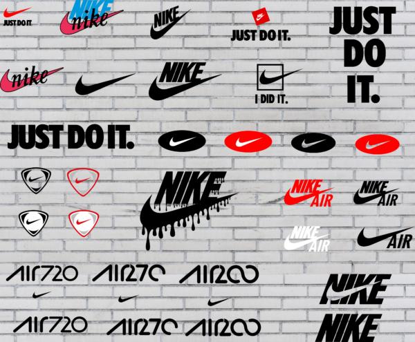 1 Vectorency Nike logo Vector (SVG, DXF, EPS, PDF)