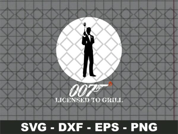 007 Licensed to Grill