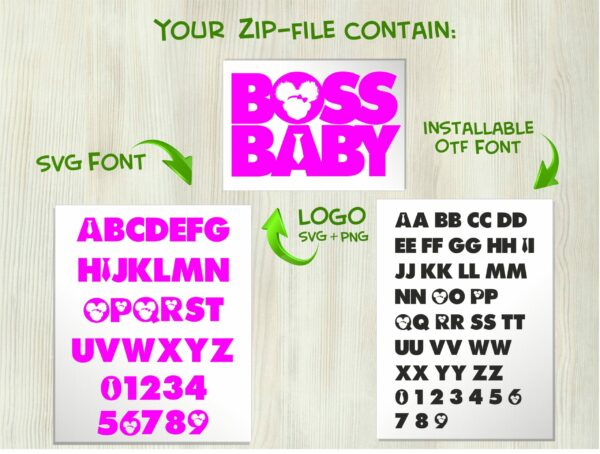 African American Boss Girl 2 scaled Vectorency African American Boss Baby Girl font / Boss Baby Girl font SVG + Boss Baby Girl font installable font OTF + Boss Baby Girl Logo svg png / Boss Baby Font