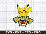 Birthday Boy Pikachu SVG