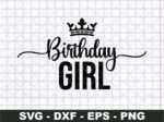Birthday Girl SVG,