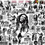 Bob Marley REw 01 Vectorency Bob Marley SVG, Bob Marley SVG Bundle, Bob Marley Cut File, Bob Marley Silhouette, Bob Marley Shirt, Bob Marley Designs SVG, Clipart, Instant Download