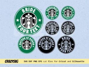 Bride Starbucks Logo