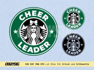 Cheerleader Starbucks Logo