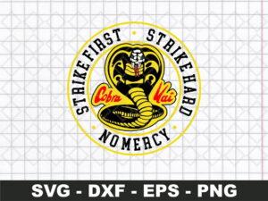 Cobra Kai Dojo Logo SVG