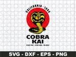 Cobra Kai Logo California 1984 svg