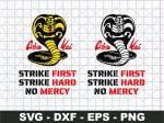 Cobra Kai Logo No Mercy SVG