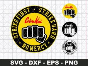 Cobra kai first dojo logo svg